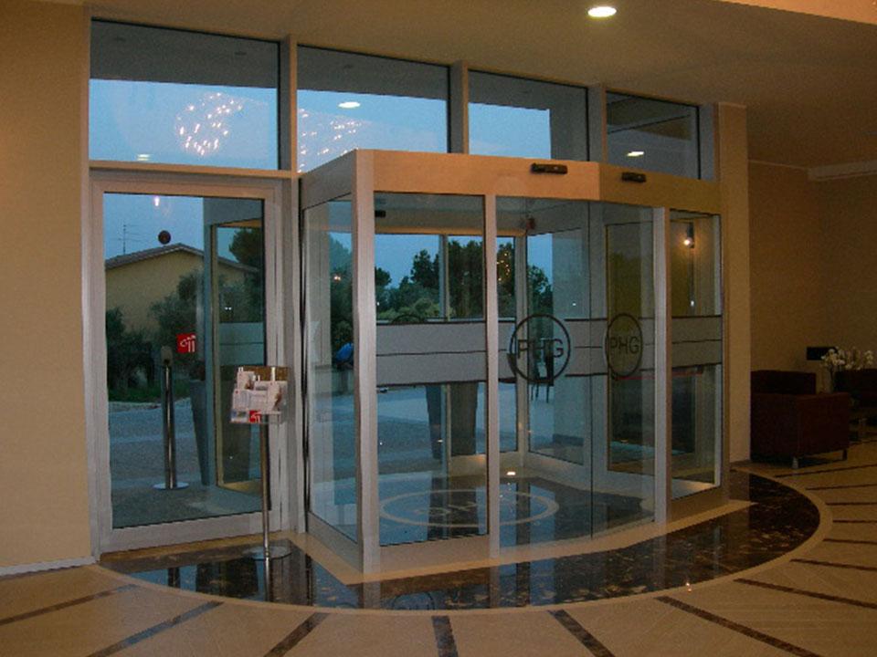 Automazione Veneta I Nostri Lavori Porta Automatica Ingresso Hotel Germano
