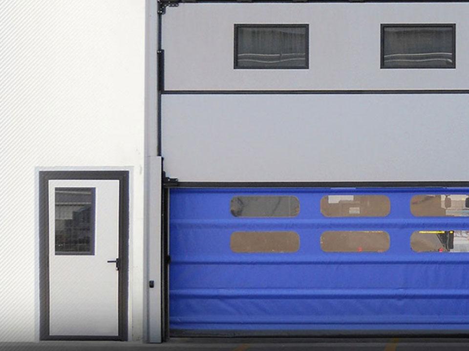 Automazione Veneta I Nostri Lavori Portoni Rapidi Con Impacchettamento Alti